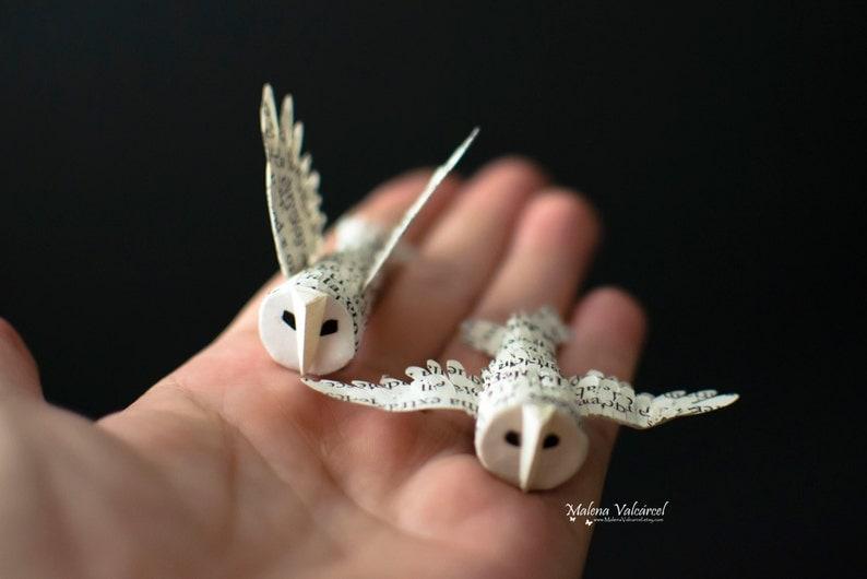 Paper Owl  3D Paper Bird  Owl image 0