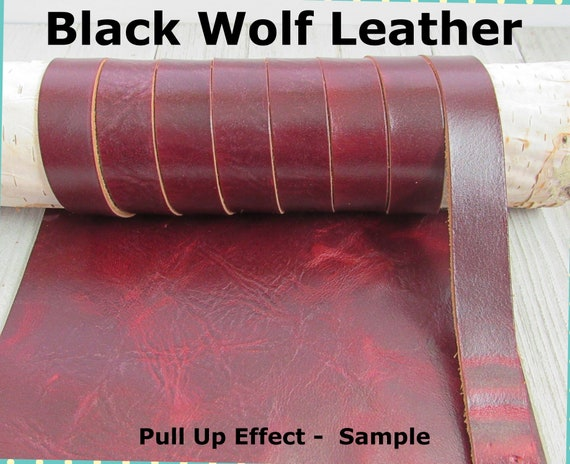 "30 Feet 5oz Premium Cowhide Strip Dark Brown 3//8/""  Genuine Leather Strap"