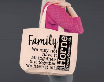 family reunion bag etsy