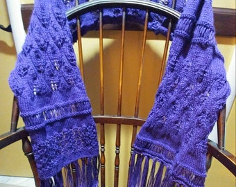 Violet Summer Shawl