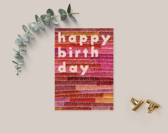 Happy Birthday Card - Birthday Card - Greeting Card