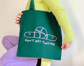 Don't Get Twisted Tote (Various Colours)