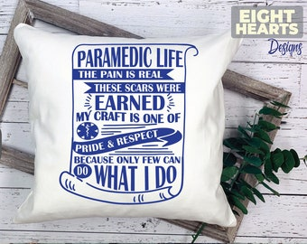 Paramedic -EMS Life Series- |svg|png|dxf|eps -Cutting,Printing,Sublimating,Crafting - Iron on Transfer Great for DIY'ers Cricut/Cameo