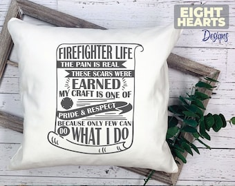 Firefighter  -EMS Life Series- |svg|png|dxf|eps -Cutting,Printing,Sublimating,Crafting - Iron on Transfer - Great for DIY'ers - Cricut/Cameo