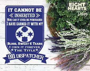 911 Dispatcher Pledge - Subway Art - SVG Designs - svg|png|dxf|eps - Cutting, Printing, Sublimating, Crafting Designs, Iron on Transfer DIY