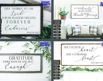 Thanksgiving Bundle - Family - Farmhouse - Home Decor