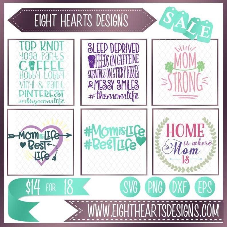 SALE  Mothers Day Design Bundle  Digital Designs  Great image 0