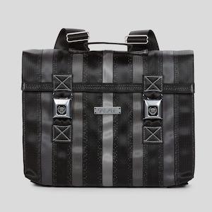 Messenger Seatbelt Bag Large Messenger Bag Black and Gray with Land Rover Seat Belt Bag Gifts for Her Gifts for Back to School Messenger Bag