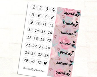 Mother Deerest Date Cover Stickers For Your Planner