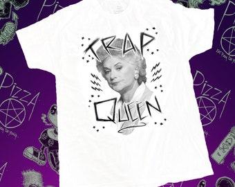 "Pizza Penatagram- Golden Girl Trap Queen Tshirt ""Bea Trap"""
