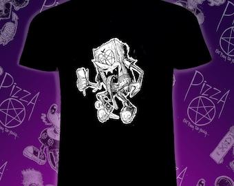 PIZZA PENTAGRAM Sponge Guy T-Shirt