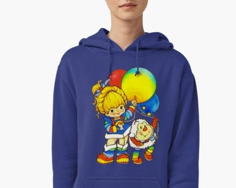 Colourful Rainbow Brite with Twink Hoodies, S to 2XL