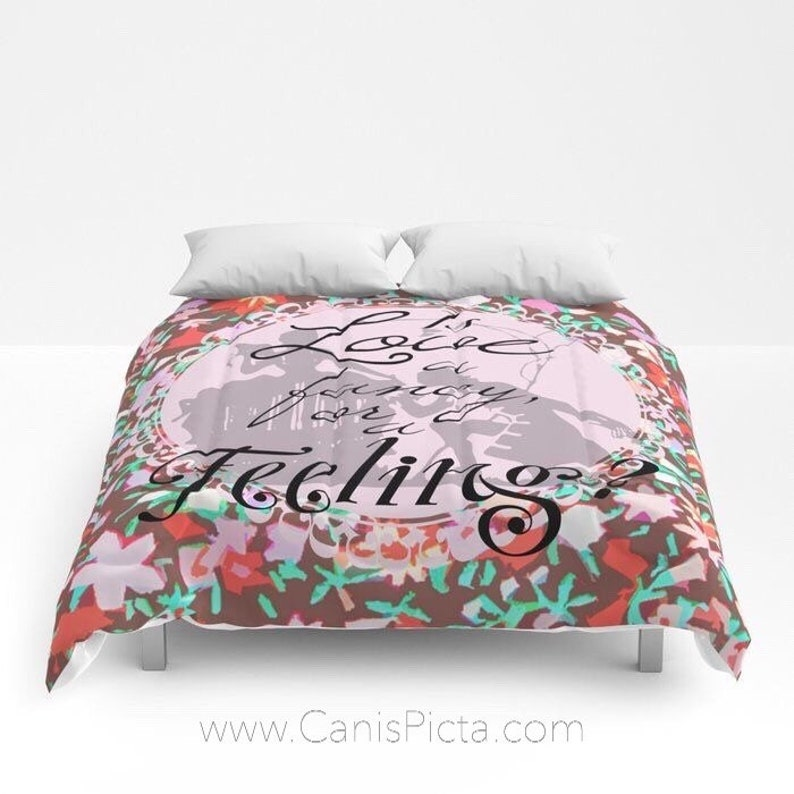 Sense & Sensibility Comforter Twin XL Full QUEEN KING Pop Art image 0