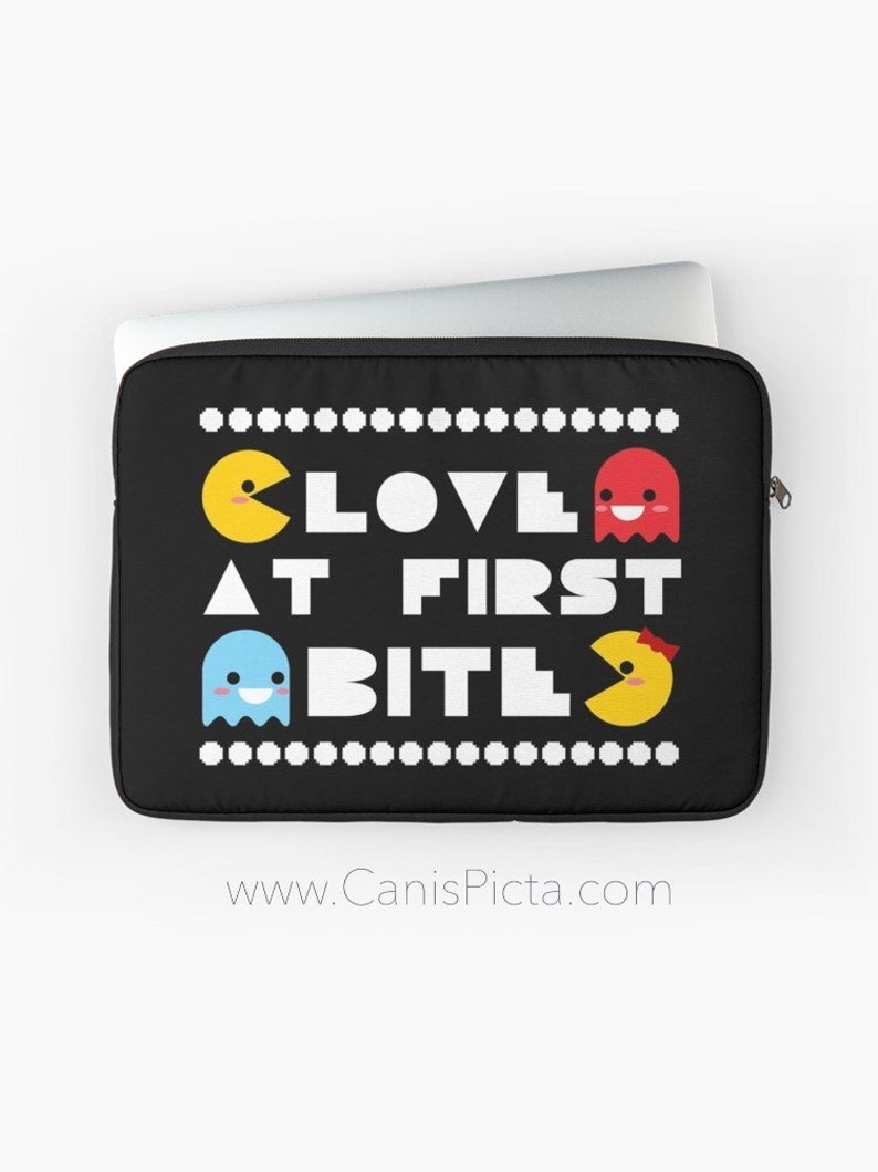 Love At First Bite Laptop Sleeve Case Macbook Computer iPad image 0