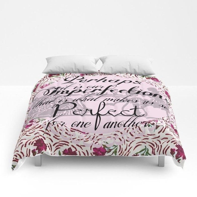 Emma Comforter Twin XL Full QUEEN KING Pop Art Room Decor image 0