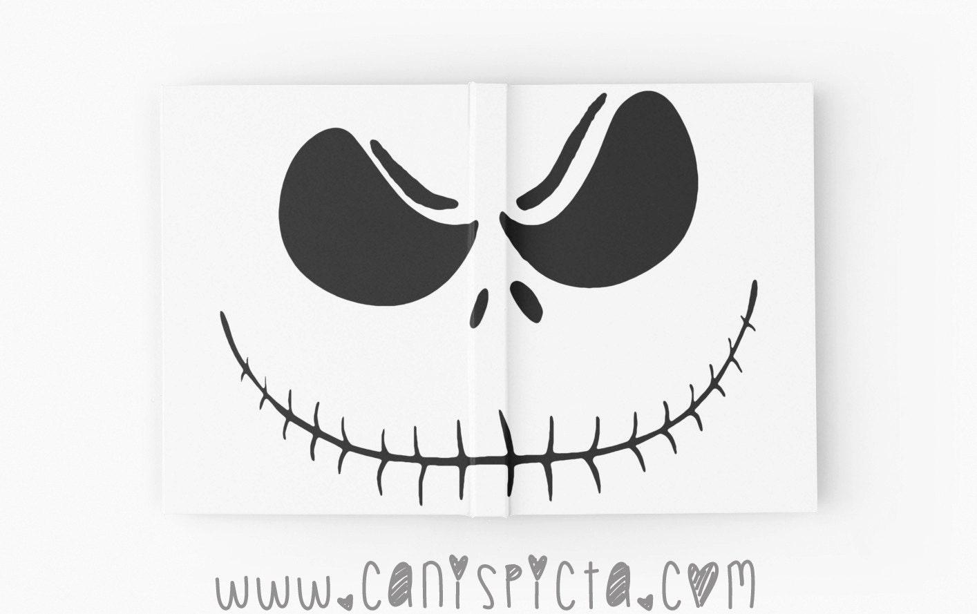 Nightmare Before Christmas Journal Skellington Notebook Jack | Etsy