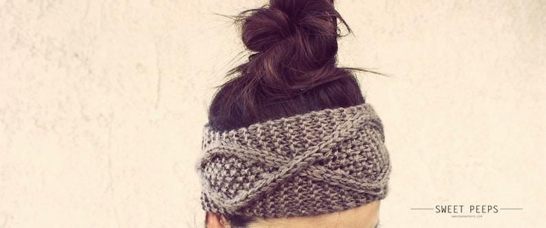 BUY 2 GET 1 FREE  Knit Headband Knit Headband Knit Beanie image 0