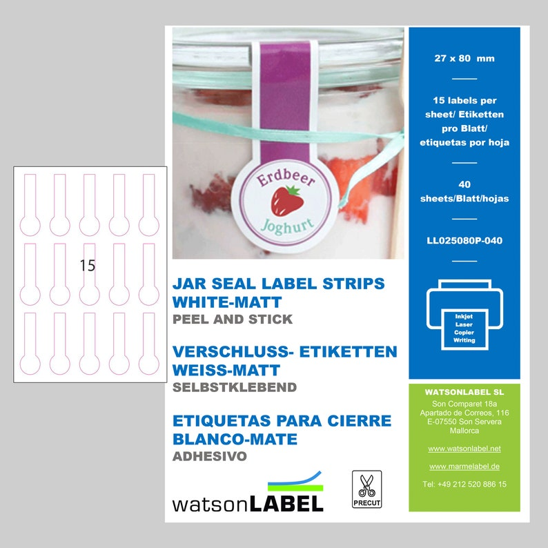 graphic relating to Printable Tamper Proof Labels named 600 tamper evidence jar seal labels 27 x 80 printable