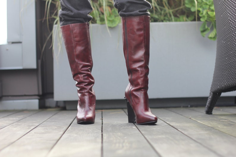 Mord-Sith Boots Upcylced Inspired by Legend of the Seeker image 0