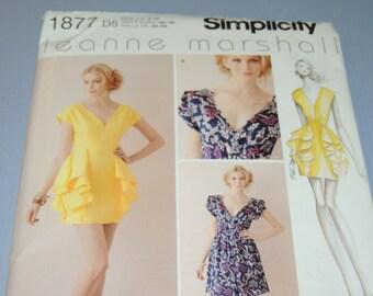 Simplicity 1877 UNCUT D5 Dress Pattern