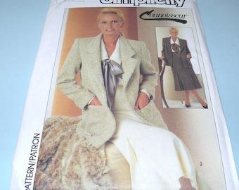 1987 Simplicity 7029 Connoisseur Pattern size 6, 8 UNCUT