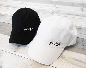 /& Mrs Baseball Hats Custom Mr