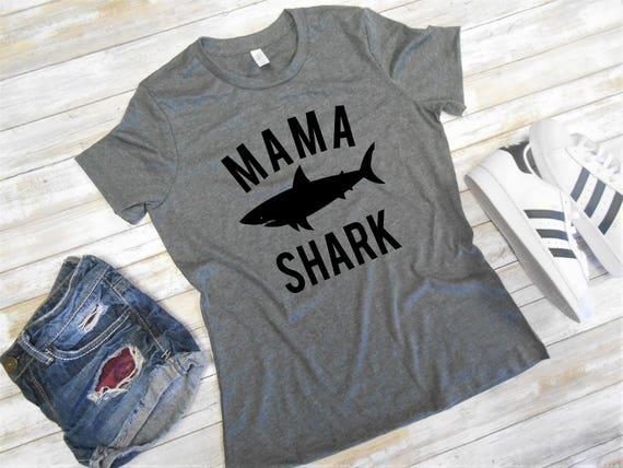 Mama Shark Shirt Mom Shark Shirt Mom Shark T Shirt Mama