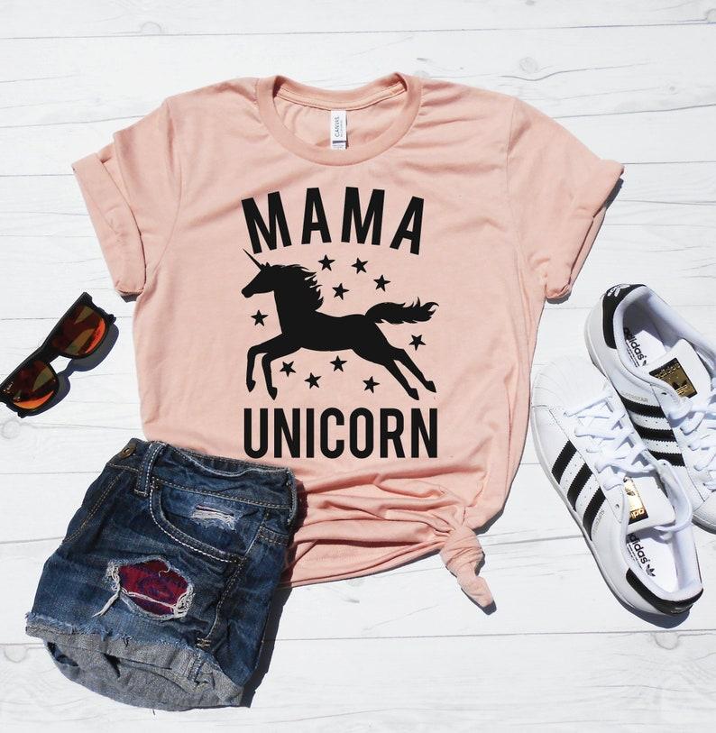 88227f81 Mama Unicorn Mama Unicorn Shirt Mom Unicorn T-Shirt | Etsy