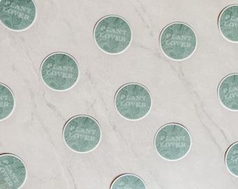 Plant lover 2 inch Sticker, monstera Plant Sticker, House Plant Sticker, Weatherproof Die Cut Vinyl Sticker for laptop
