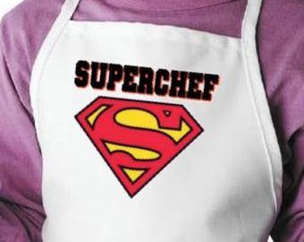 Kids Aprons Superchef Fun Cooking Apron For Children, Child Kitchen Aprons