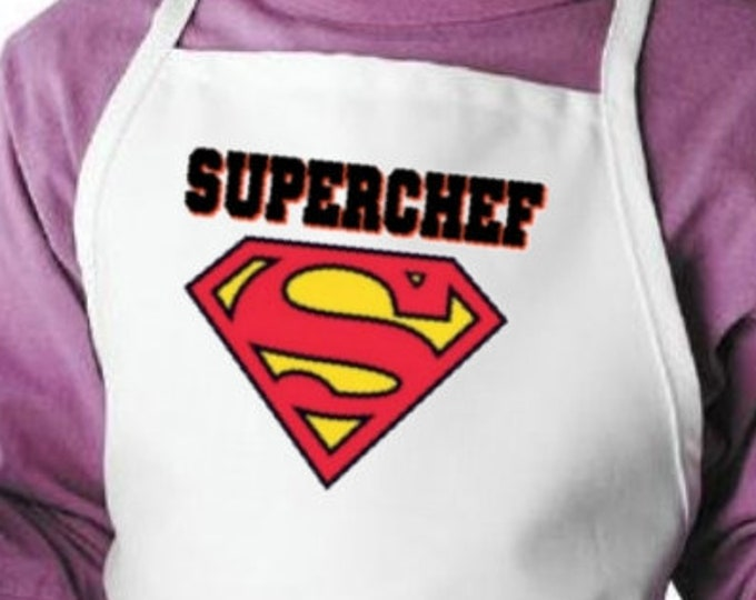 Kids Aprons Superchef Fun Cooking Apron For Children, Child Kitchen Aprons
