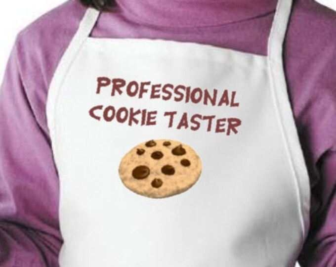 Child Aprons Professional Cookie Taster Kids Cooking Apron, Children's Kitchen Apron