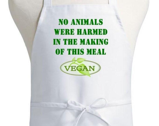 Vegan Aprons, Vegetarian Aprons, Vegan Apron Design