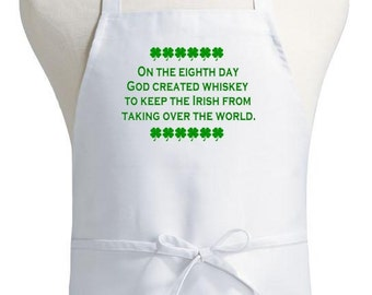 St Patrick Aprons On The Eighth Day Irish Cooking Apron