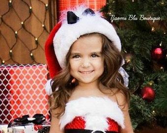 Christmas Mrs Claus Santa Hat.