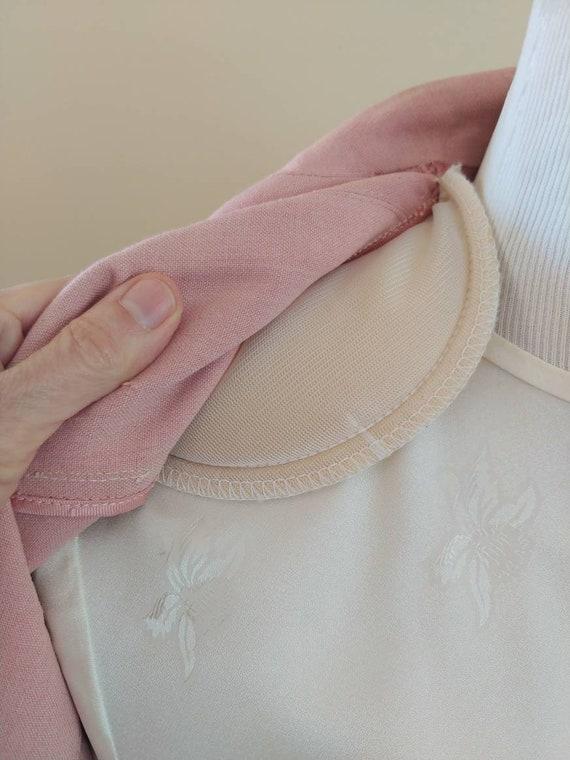 Vintage 1940s/1950s suit, pink linen, summer suit… - image 6