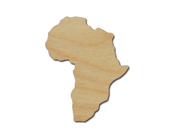 Shape Of Africa Map.Shape Of Africa Etsy