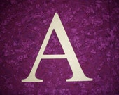 Greek Letter A Alpha Symbol Unfinished Wood Letters 6 quot Inch Tall Paintable MDF
