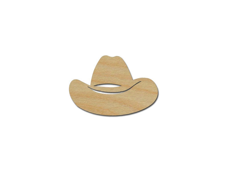 Cowboy MDF Laser Cut Craft Blanks in Various Sizes