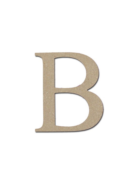 Greek Letter B Beta Symbol Unfinished Wooden Letters 12 Etsy