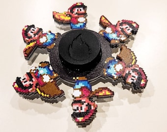 Maario Laser Cut Six Frame Animated Spinner  (Please Read Description Before Buying)