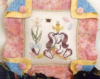 ETSY BIRTHDAY SALE Brittercup Designs Britty Bunny Counted Cross Stitch Pattern