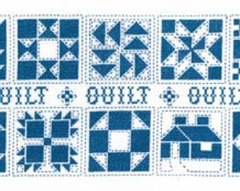 ETSY BIRTHDAY SALE Imaginating Quilt Quilt Quilt Cross Stitch Pattern