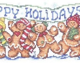 ETSY BIRTHDAY SALE Imaginating Happy Gingers Cross Stitch Pattern