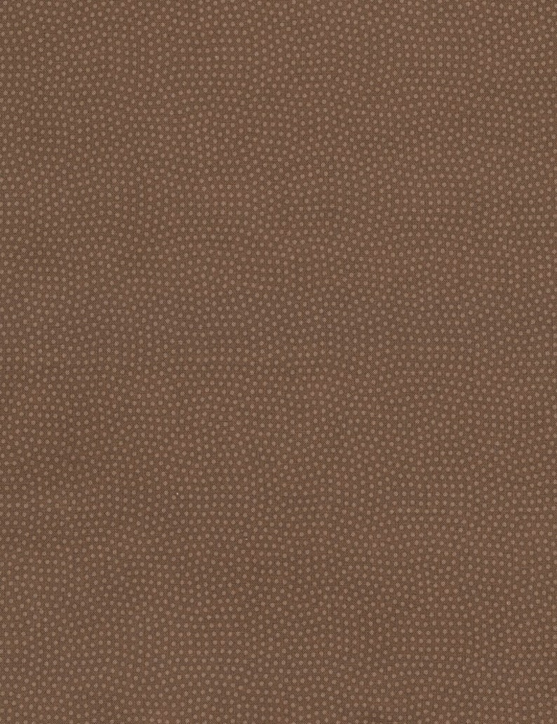 Spin Basic cotton fabric  Mocha  Timeless Treasures  dotted image 0
