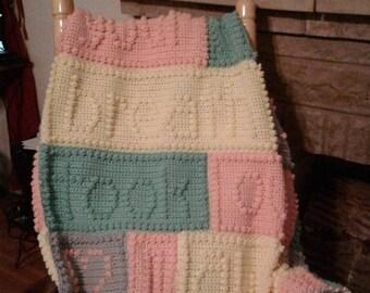Crochet Breath Blanket Afghan