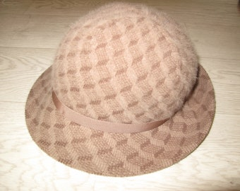 9b7694a6b37c07 Kangol bucket hat, brown beige furgora