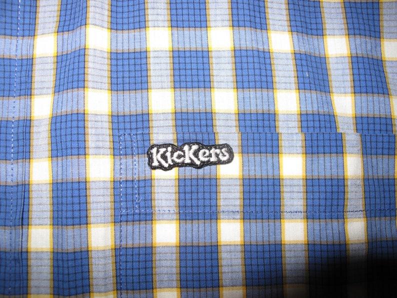 size large Kickers men/'s check shirt