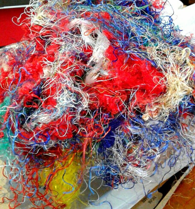 Banana silk waste, banana threads, spinning fiber, art yarn, needle  felting,roving, silk paper, silk fusion