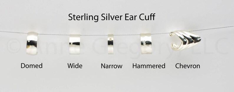 Techie Earring Earrings SciFi Fantasy Triple Trekkie Jewelry Non Piercing Ear Band Silver Stud Cuff 606 Chain Post Bajoran